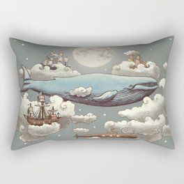 Ocean Meets Sky Rectangular Pillow