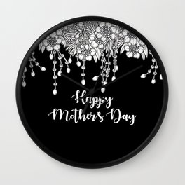 Psithurism III - Happy Mother's Day Wall Clock