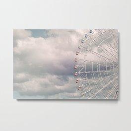 in the sky Metal Print