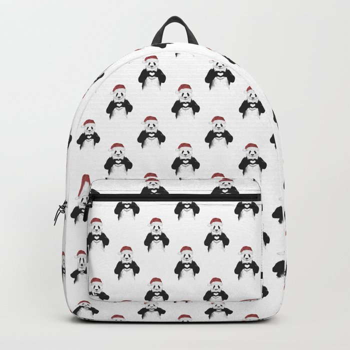 Santa panda Backpack