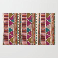 Tribal stripes Rug