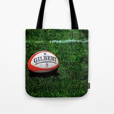 Rugby Time Tote Bag