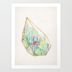 Terrarium I Art Print