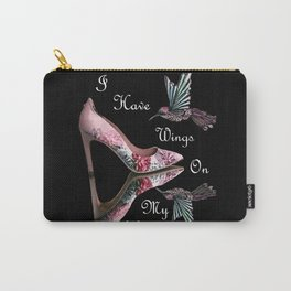 Wings On My Heels Carry-All Pouch
