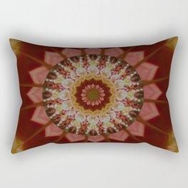 Coloured Gravel in Amber Rectangular Pillow