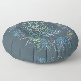 You Are My Hiding Place - Psalm 32:7 Floor Pillow