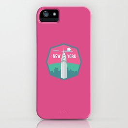 NEW YORK (I LOVE USA SERIE) iPhone Case