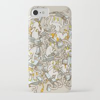 inner demons iPhone & iPod Cases featuring Inner Demons by Katie Owens