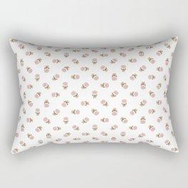 Ice-Cream Cone Pattern Rectangular Pillow