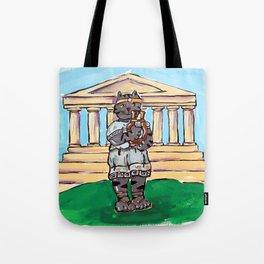 Greek Cat Tote Bag