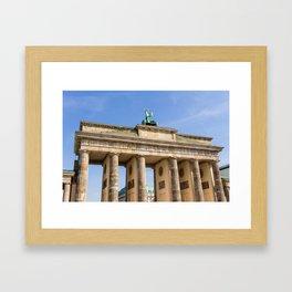 Brandenburg Gate Berlin Framed Art Print