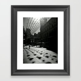 """Bells on Bourke St"" Framed Art Print"