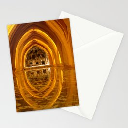 Yellow Relaxation Stationery Cards