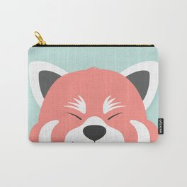 Red Panda Smiles Carry-All Pouch
