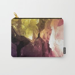 Colourful Crystals Carry-All Pouch