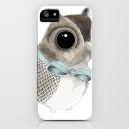 Mister Hoot iPhone Case