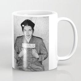 Rosa Parks Mugshot Coffee Mug
