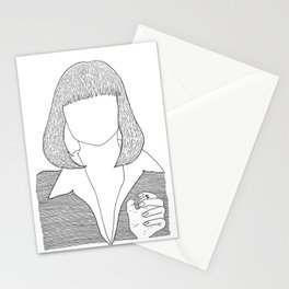 Pulp Fiction - Mia Wallace Stationery Cards