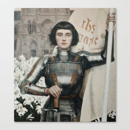 JOAN OF ARC - A.LYNCH  Canvas Print