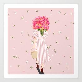 Flower Bouquet Art Print