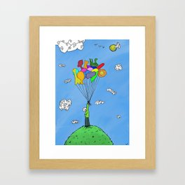 Balloon Animals Framed Art Print