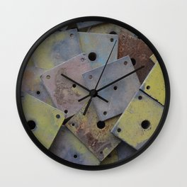 Scaffolding  Wall Clock