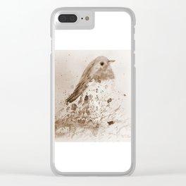 Robin Clear iPhone Case