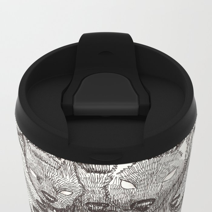 """I will not let her see me like this."" Metal Travel Mug"