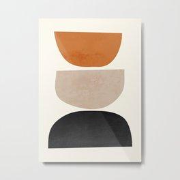 abstract minimal 63 Metal Print