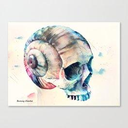 Skull Fantasies Canvas Print