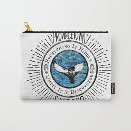 Everything is Hidden-Provincetown Carry-All Pouch