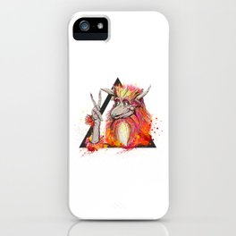 Peace of the Firey iPhone Case