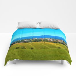 Unsettled geography Comforters