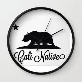 Cali Native Wall Clock