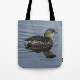 Immature Pied-billed Grebe Tote Bag