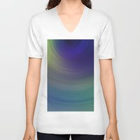 blur V-neck T-shirts featuring Blur 1 by Andrea Gingerich