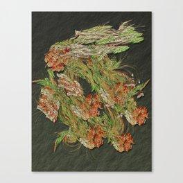Happy Green Dragon Canvas Print