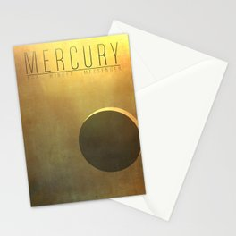 Mercury - The Winged Messenger Stationery Cards