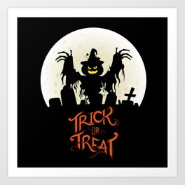 Jeepers Creepers Art Print
