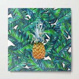 pineapple 2 Metal Print