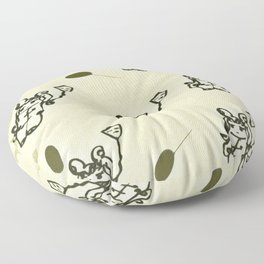 Is this really me? Floor Pillow