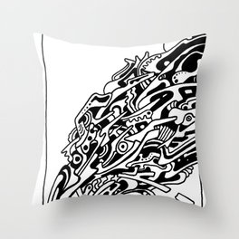Spatter Throw Pillow