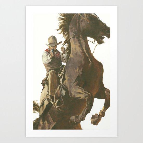 Gus Art Print
