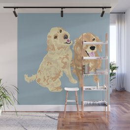 Libby and Apollo Wall Mural