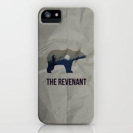 The Revenant Vector Portrait iPhone Case