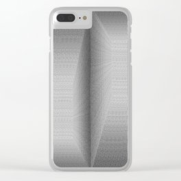 Binary Rooms Clear iPhone Case