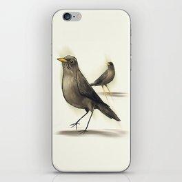 Chilean Fieldfare iPhone Skin