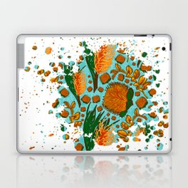Australian Native Floral Graphic Print Laptop & iPad Skin