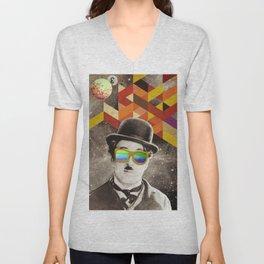 Public Figures Collection - Chaplin Unisex V-Neck