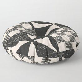 Tapa Cloth | Pacifica Patterns | Tribal Art Floor Pillow